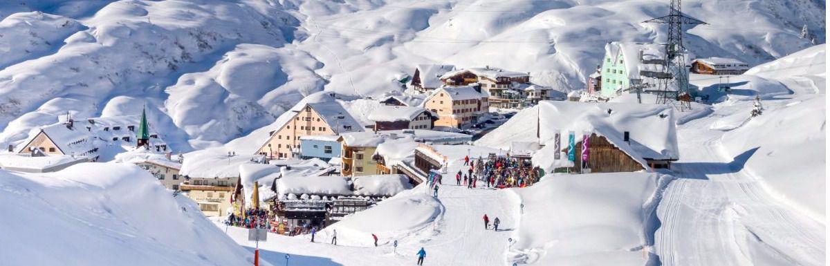 La cuna del esquí: Austria