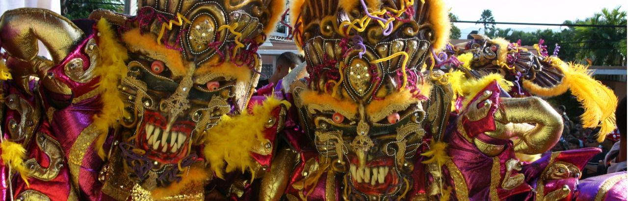 El carnaval dominicano, una celebración llena de color
