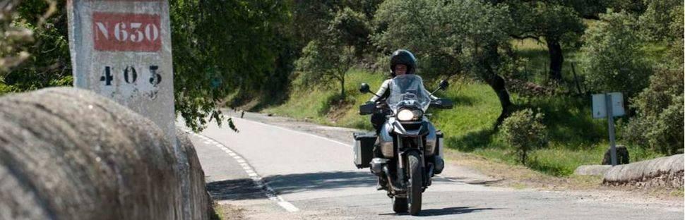 """""""Descubre la Ruta Vía de la Plata en moto"""""""