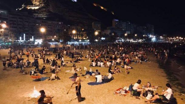 Alicante no autorizará el acceso a sus cinco playas durante la noche de San Juan