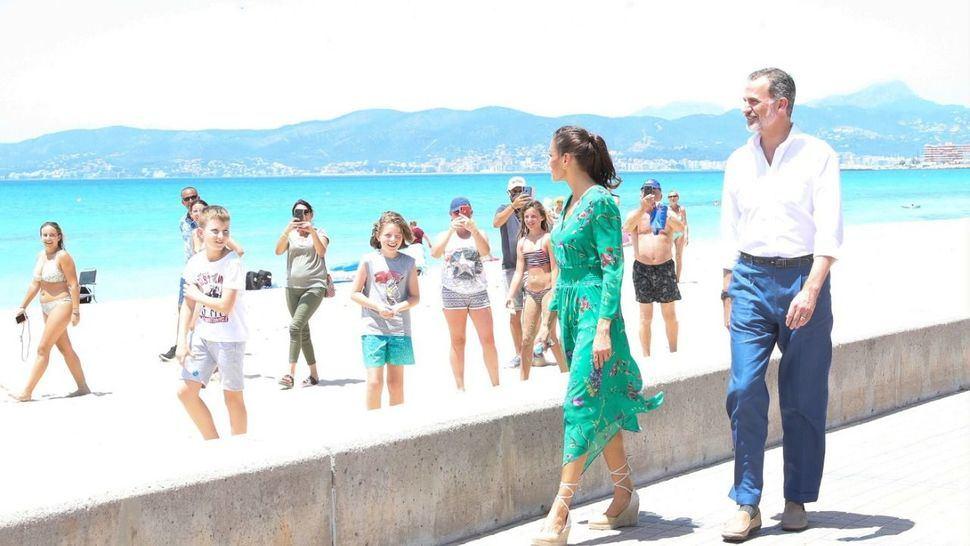 Los Reyes visitan Mallorca en pleno esfuerzo hacia la 'nueva normalidad'