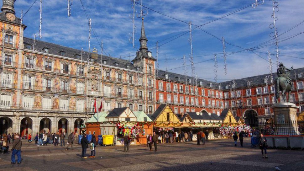 El tradicional mercado navideño de Madrid volverá este año