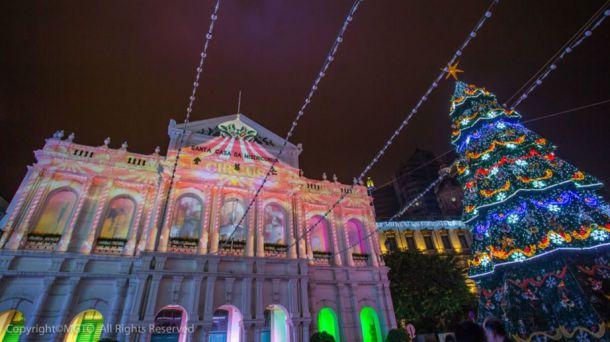 La Navidad es una época particularmente especial en Macao