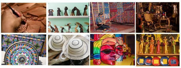 A través de sus souvenirs revive tus mejores recuerdos de Centroámerica y República Dominicana