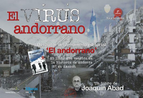 Lecturas ágiles para viajar: 'El virus andorrano', de Joaquín Abad