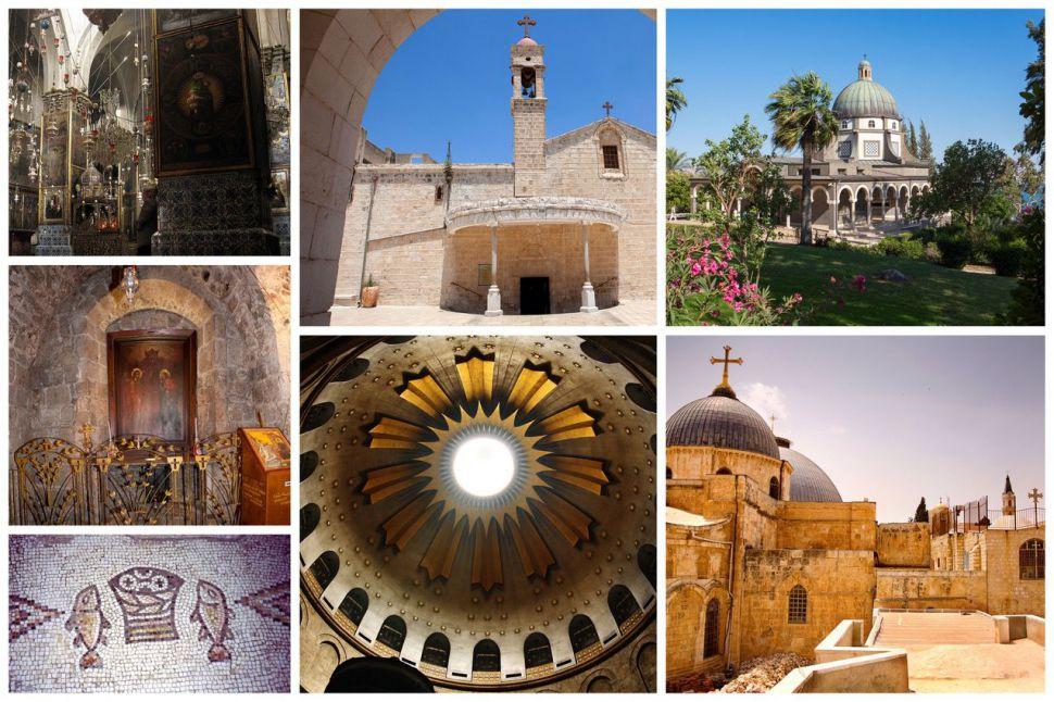 Un paseo por las seis iglesias más emblemáticas de Israel