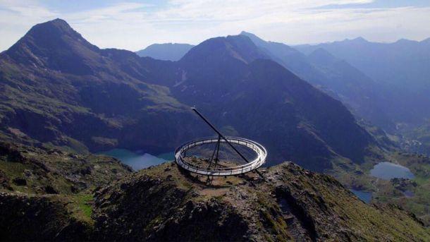 El nuevo mirador solar de Ordino, en Andorra