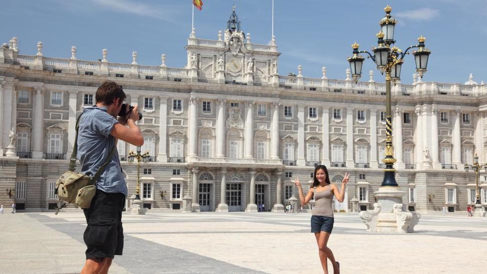 La Comunidad de Madrid aumentó casi un 4,7% la llegada de turistas extranjeros
