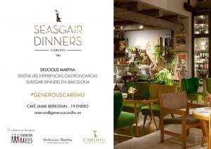 Las experiencias gastronómicas Seasgair dinners llegan a Barcelona